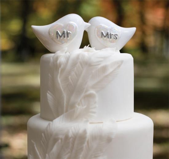Белые свадебные торты