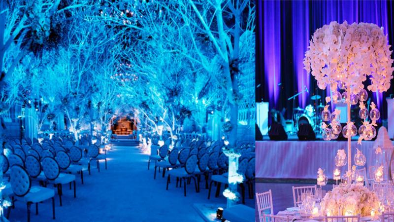 декор зимней свадьбы