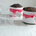 Шоколадные кексики для гостей