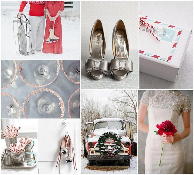Яркая зимняя свадьба