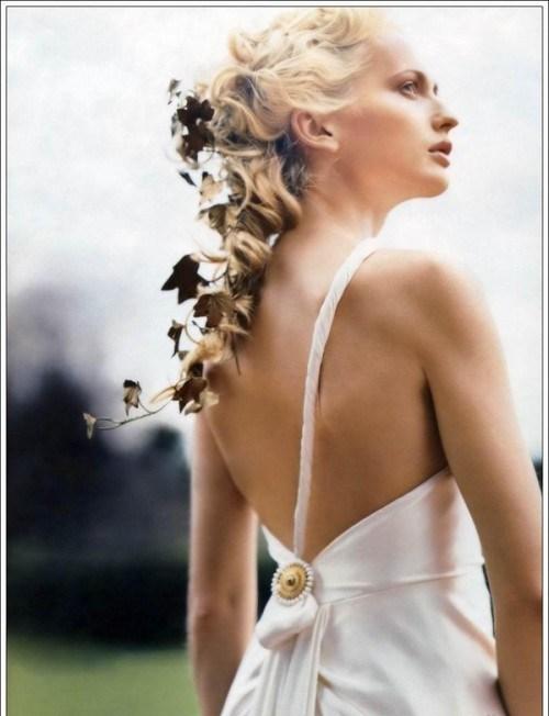 Объемные косы на свадьбу