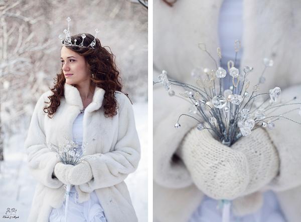 """Свадьба в стиле """"Зимняя сказка"""""""