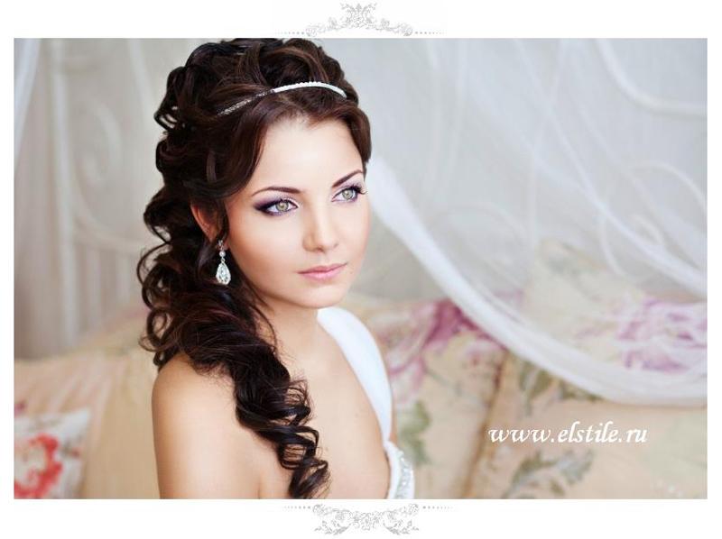 Греческая коса на свадьбу