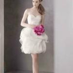 Короткие свадебные платья 2013
