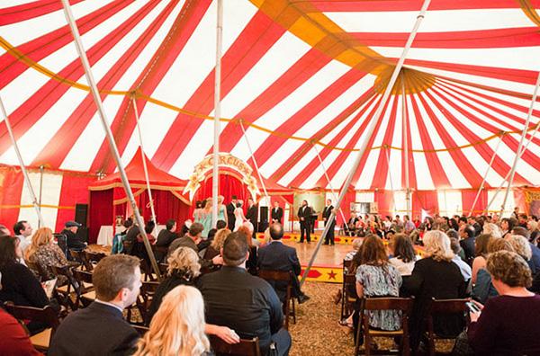 Винтажная свадьба в стиле Старого цирка