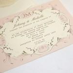 свадебные приглашения ретро