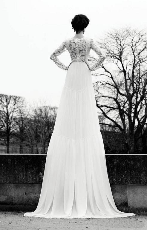 это фото в свадебном платье со спины каре тестируемом