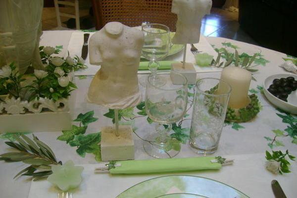 Оформление свадьбы в греческом стиле