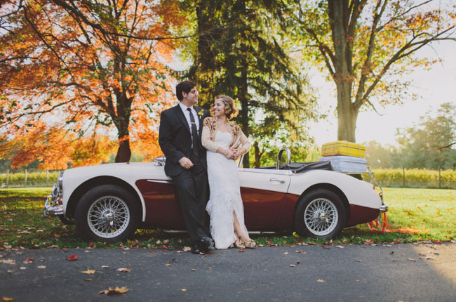 Осенняя свадьба Натали и Марка