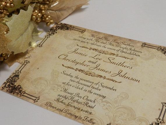 свадебные приглашения с кружевом