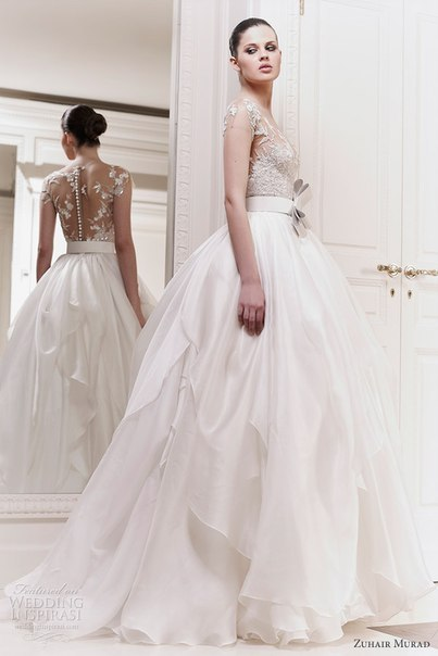 самые пышные свадебные платья 2013