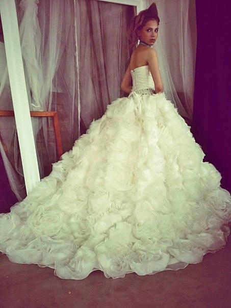 Фото самые красивые и пышные платья