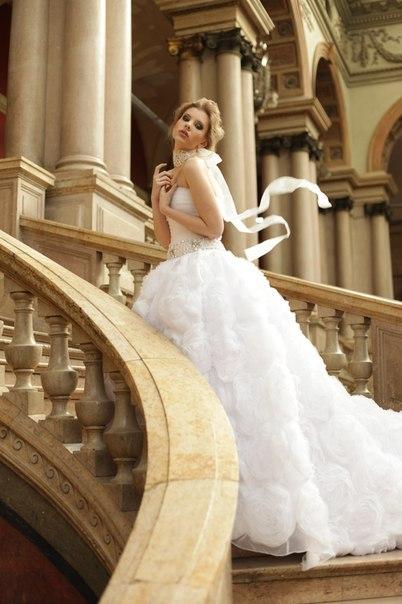 красивые свадебные платья 2013 пышные