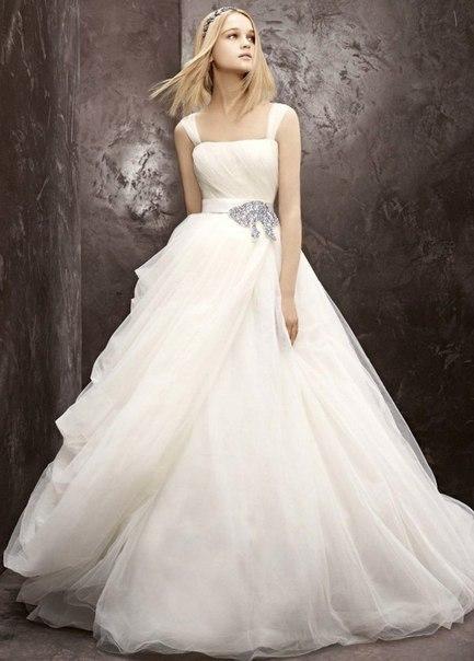 очень пышные свадебные платья