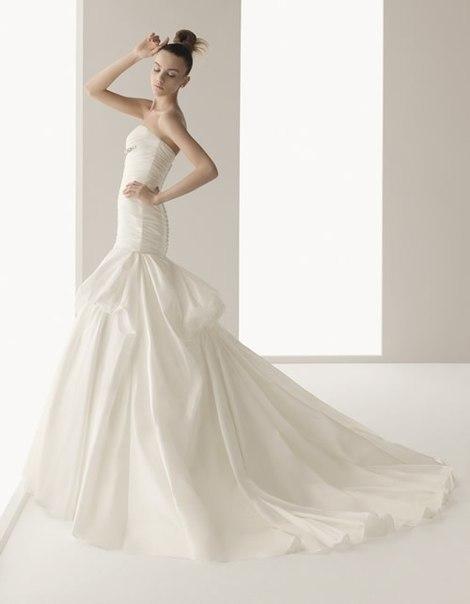 свадебные платья 2013 со шлейфом