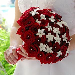 Белый букет невесты