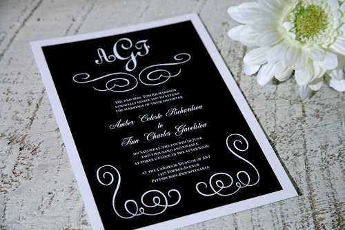пригласительные на гангстерскую свадьбу