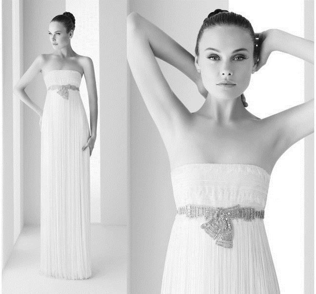 скромные свадебные платья 2013