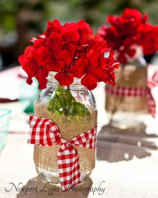 свадьба пикник