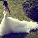 Свадебные платья рыбка (русалка) 2013