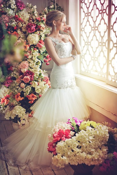 свадебные платья рыбка 2013