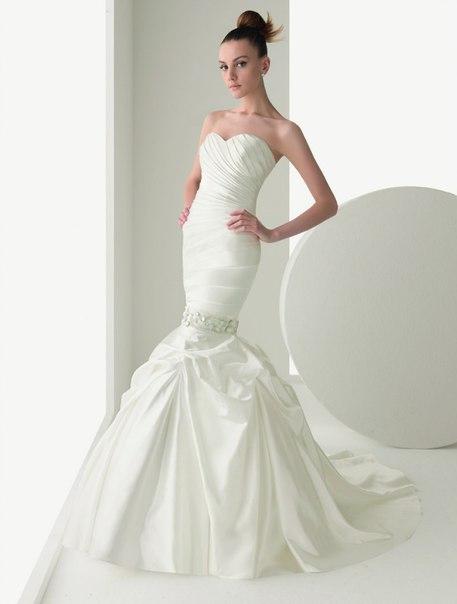 свадебное платье русалка 2013