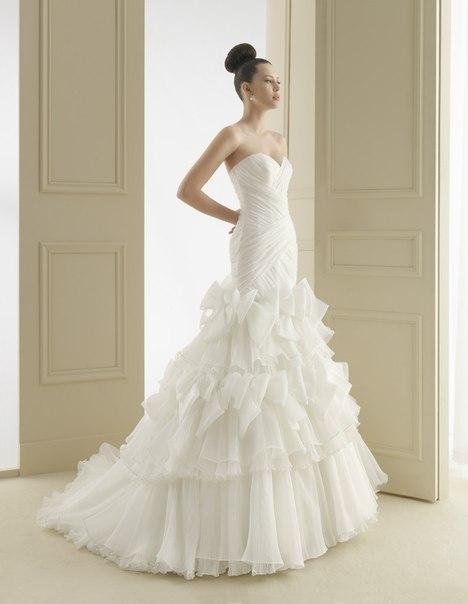 свадебные платья 2013 силуэт русалка