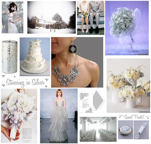 Цвета зимней свадьбы