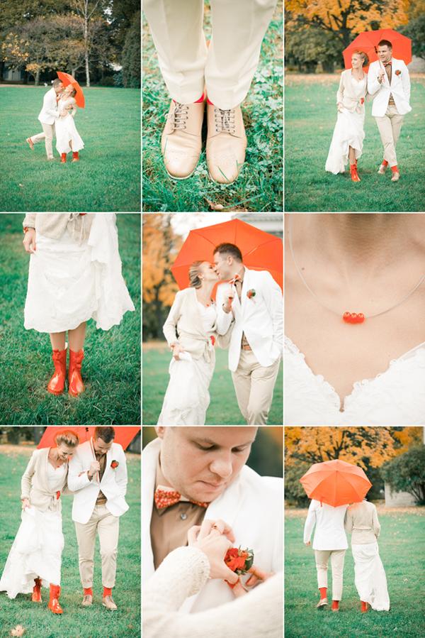 Великолепная осенняя свадьба Надежды и Станислава