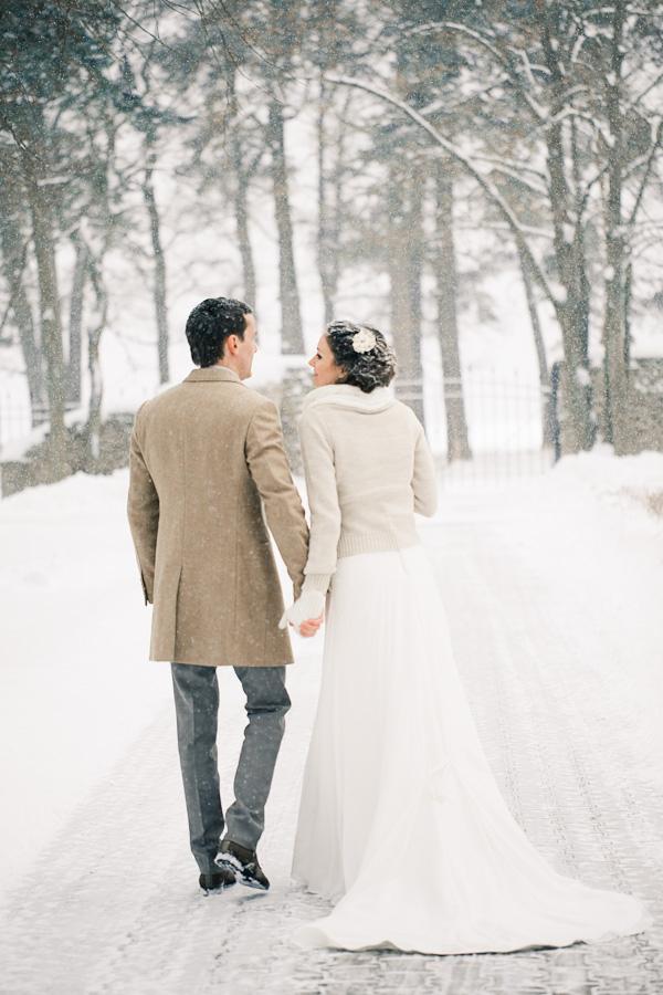 Снежная любовь от Стаса и Наташи