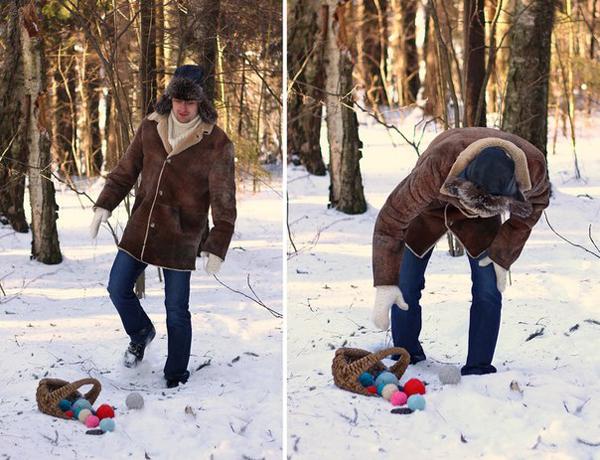 """Зимняя свадьба в стиле сказки """"Морозко"""""""