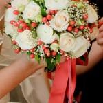 Исконно русские традиции на свадьбе Александра и Елены