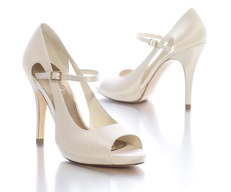 Классические свадебные туфли