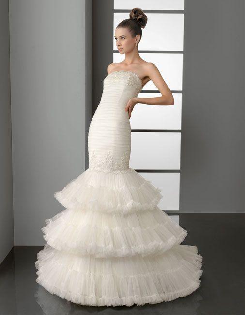 свадебная мода 2013 платья