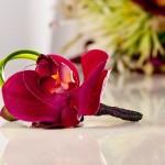 Бутоньерка из орхидеи