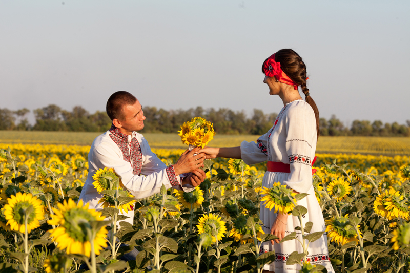Love Story в украинском стиле