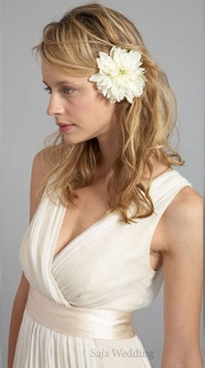 Прическа невесты в греческом стиле