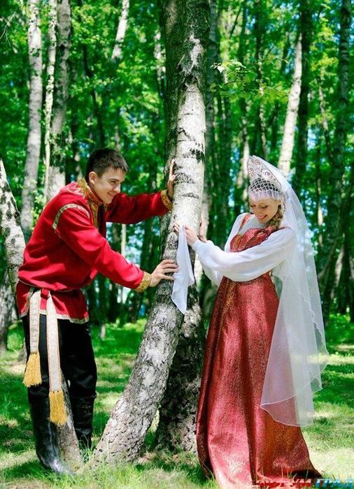 Сказка о добром молодце и его невесте