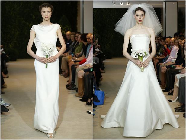 свадебные платья каролина херрера 2014
