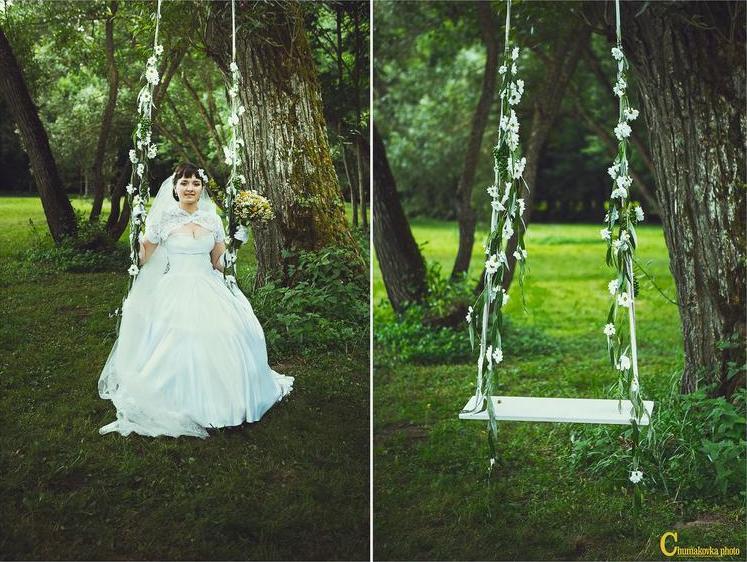 Русская свадьба в стиле XIX века