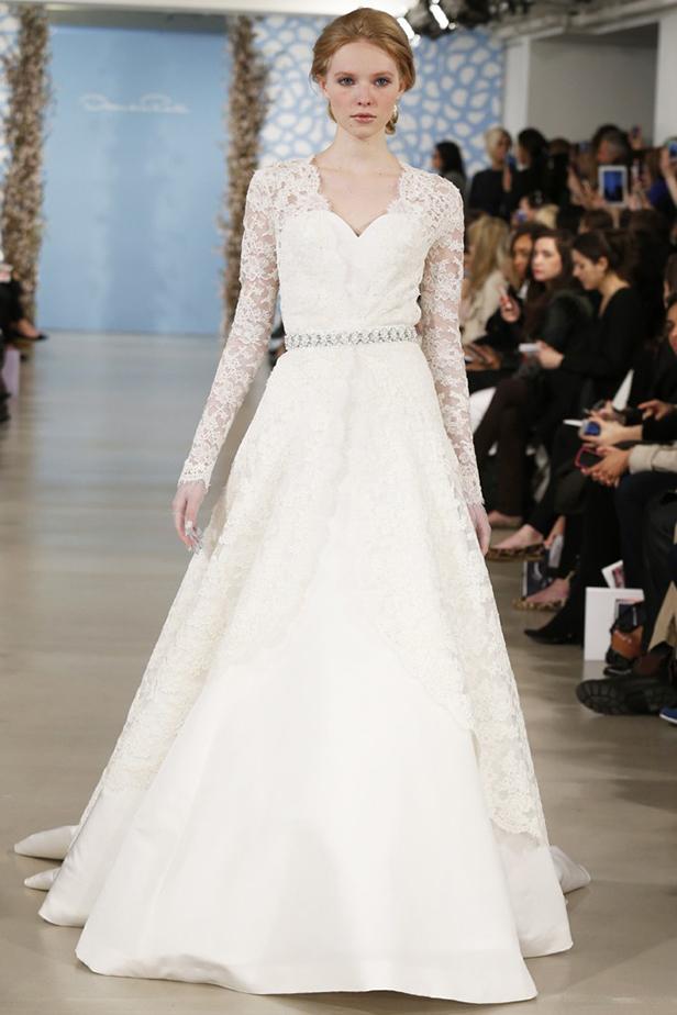 Свадебные платья Oscar de la Renta 2014