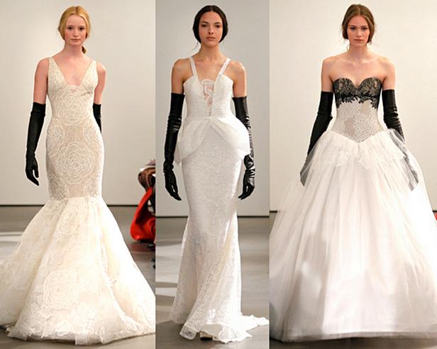 свадебные платья vera wang 2014