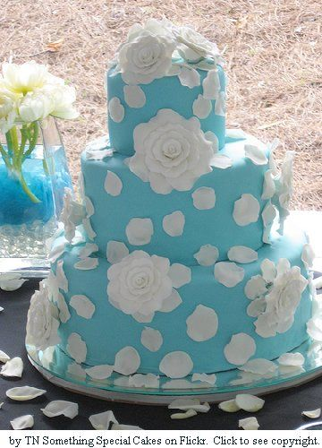 Торт в стиле Тиффани
