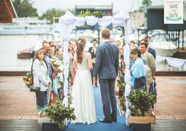 Утонченная свадьба в морском стиле от Марии и Льва