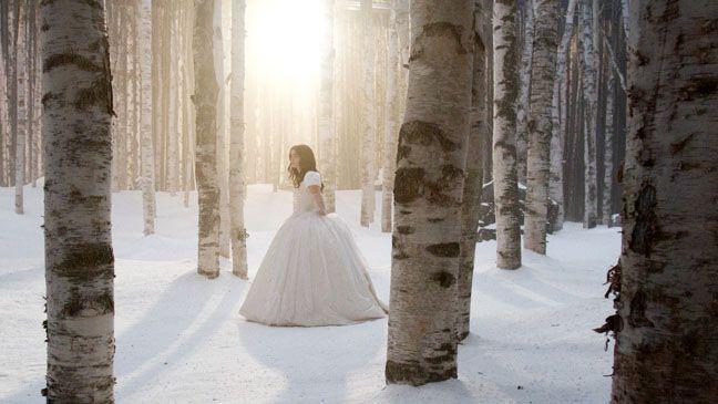 зимняя свадьба в стиле сказки