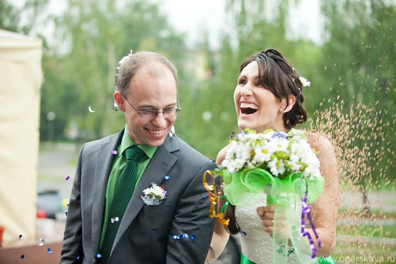 Простор ромашковой свадьбы Славы и Кати