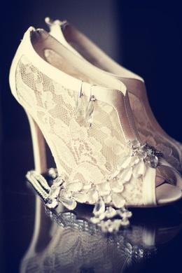Свадебные туфли в стиле ретро