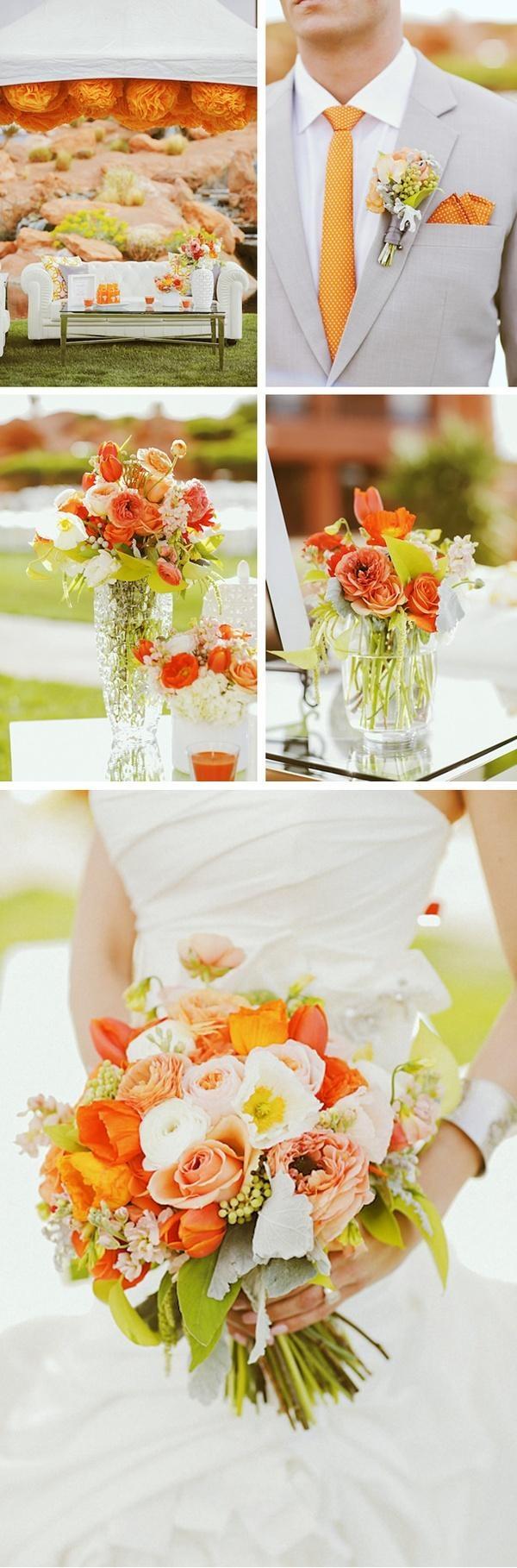 цвет свадьбы 2014 года