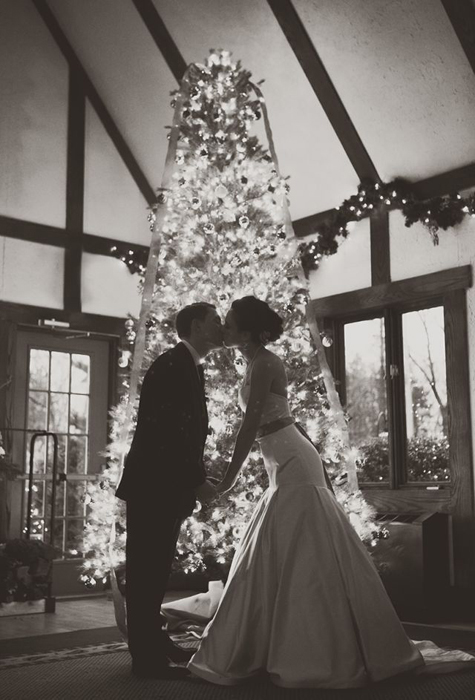 """Зимняя свадьба в стиле """"Рождественская сказка"""""""
