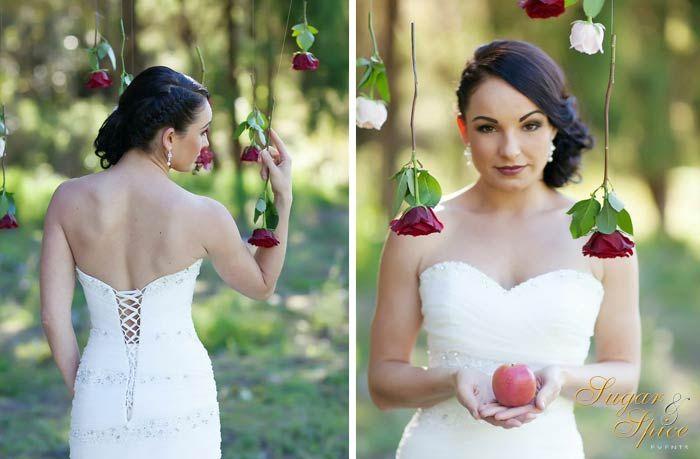 "Летняя свадьба в стиле ""Белоснежка"""